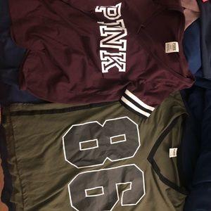 2 PINK VS shirts s/m